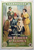 The Barrier of Flames 1914 Filmaffisch Philip Lonergan