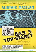 Bas 3 Top Secret 1965 poster Anne Francis
