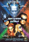 Batman and Robin 1997 poster Arnold Schwarzenegger