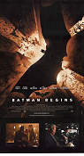 Batman Begins Poster 30x70cm Mint original