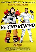 Be Kind Rewind 2008 poster Jack Black Michel Gondry