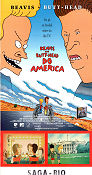 Beavis and Butt-Head do America Poster 30x70cm NM original
