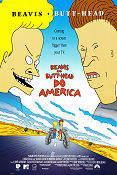 Beavis and Butt-Head do America 1996 poster Beavis and Butt-Head