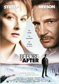 Before and After 1996 poster Meryl Streep Barbet Schroeder