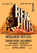 Ben-Hur 1959 poster Charlton Heston William Wyler