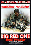 The Big Red One 1980 poster Lee Marvin Samuel Fuller