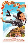 Big Top Pee Wee 1988 poster Pee Wee Herman