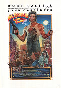 Big Trouble in Little China Poster 70x100cm FN original