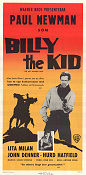 Billy the Kid 1960 poster Paul Newman Arthur Penn