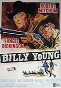 Billy Young 1969 poster Robert Mitchum