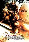 Black Hawk Down 2001 poster Josh Hartnett Ridley Scott