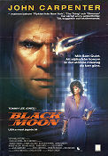 Black Moon Rising 1986 poster Tommy Lee Jones Harley Cokeliss