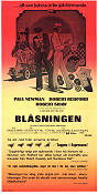 Blåsningen 1974 poster Paul Newman George Roy Hill