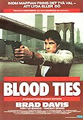 Blood Ties 1986 poster Brad Davis