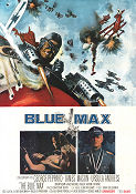 Blue Max 1966 poster George Peppard John Guillermin