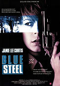 Blue Steel 1989 poster Jamie Lee Curtis Kathryn Bigelow