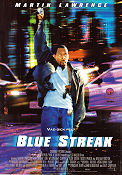 Blue Streak 1999 poster Martin Lawrence Les Mayfield
