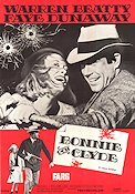 Bonnie and Clyde Poster 70x100cm FN original