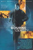 The Bourne Identity 2002 poster Matt Damon Doug Liman