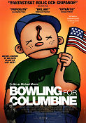 Bowling for Columbine 2002 poster Michael Moore
