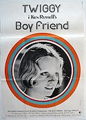 The Boy Friend Poster 70x100cm FN original