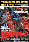 Braindead 1992 filmaffisch köpes
