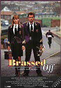 Brassed Off Poster 70x100cm FN folded original