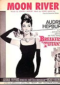 Breakfast at Tiffany´s 1961 filmfoton Audrey Hepburn Blake Edwards