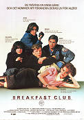 Breakfast Club 1984 poster Emilio Estevez John Hughes