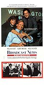 Broadcast News 1987 poster William Hurt James L Brooks