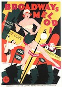 Broadways melodi 1929 poster Anita Page