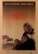 Broarna i Madison County 1995 poster Clint Eastwood