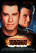 Broken Arrow 1995 poster John Travolta John Woo