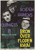 Bron över floden Kwai 1957 poster William Holden David Lean