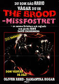 The Brood 1979 poster Oliver Reed David Cronenberg