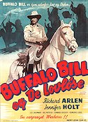 Buffalo Bill Rides Again 1947 poster Richard Arlen