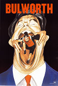 Bulworth Poster 68x102cm USA advance RO original