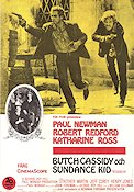 Butch Cassidy and the Sundance Kid Poster 70x100cm FN original