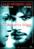 The Butterfly Effect 2004 poster Ashton Kutcher