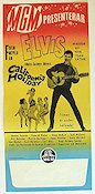 California Holiday 1966 poster Elvis Presley