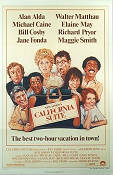 California Suite 1978 poster Alan Alda