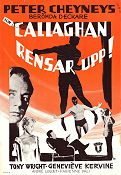 Callaghan rensar upp 1961 poster Tony Wright
