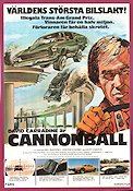 Cannonball 1976 poster David Carradine Paul Bartel