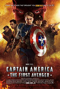 Captain America The First Avenger 2011 poster Chris Evans