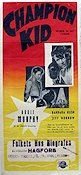 Champion Kid 1956 poster Audie Murphy