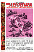 Cheyenne Autumn 1964 poster Richard Widmark John Ford