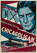 Chicagoligan 1930 poster Richard Dix George Archainbaud