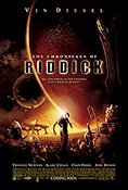 The Chronicles of Riddick 2004 poster Vin Diesel