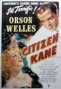 Citizen Kane Poster reproduction RO 67x96