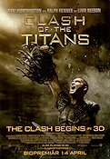 Clash of the Titans 2009 poster Sam Worthington